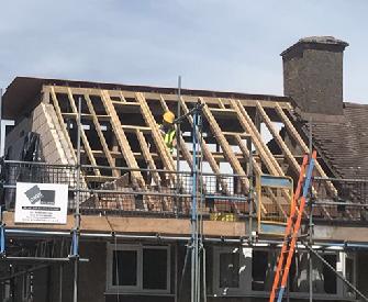 Roof Conversion Work in Progress