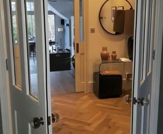 Hallway and kitchen refurbishment