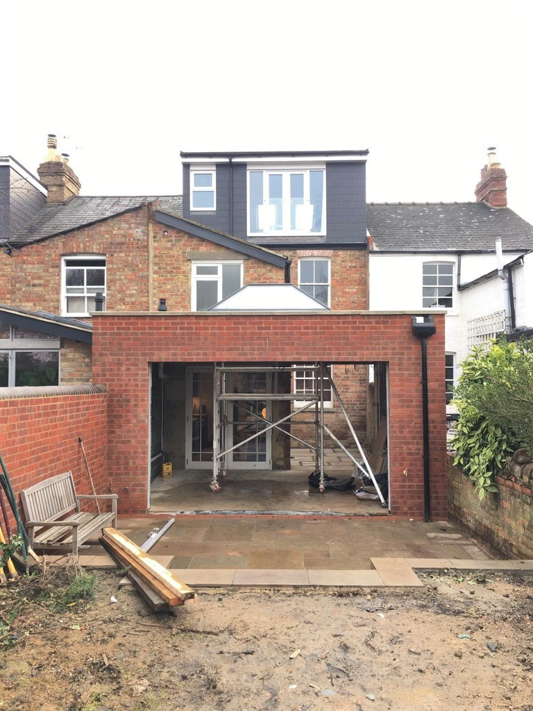 Cowley House Extension Work in Progress