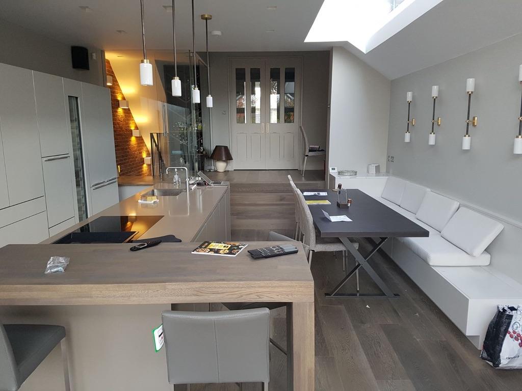 Modern kitchen refurbishment