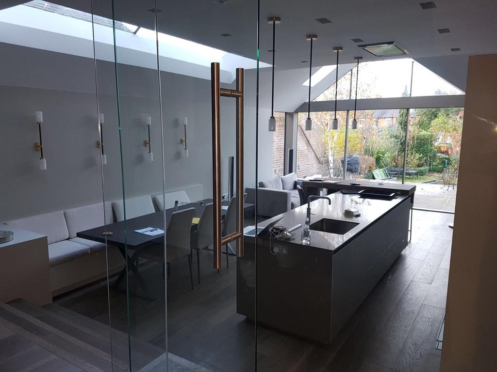 Modern kitchen, house refurbishment